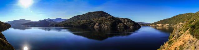 Vägen av de sju sjöarna, Patagonia, Argentina Royaltyfria Foton