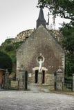 Vägen av korset och calvaryen byggde år sedan vid St Louis Monfor Royaltyfria Bilder