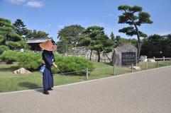 Vägen av samurajer Royaltyfria Foton