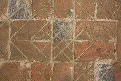 Vägen från de gamla tegelstenarna Royaltyfria Bilder