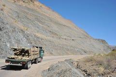 Vägen i Altiplanoen Royaltyfri Bild