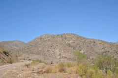 Vägen i Altiplanoen Royaltyfria Foton