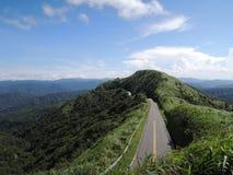 Vägen 102 i Taiwan Arkivfoto