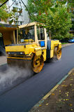 Vägen reparerar Arkivfoton