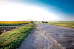 Vägen som drömmer Royaltyfri Bild