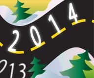 Vägen till 2014 Royaltyfria Foton