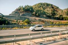 Vägen till det Aegean havet Fotografering för Bildbyråer