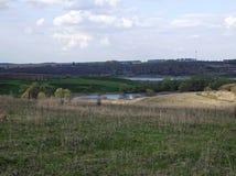 Vägen till floden Arkivbilder