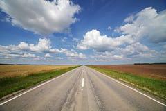 Vägen till himlen Arkivfoto