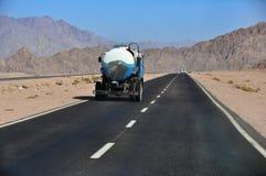 Vägen till Sharm el-Sheikh, Dahab, Sinai halvö, Egypten Royaltyfria Bilder