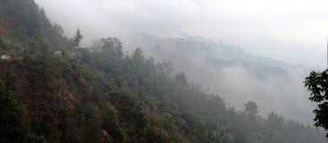 Vägen till Shimla Arkivbilder