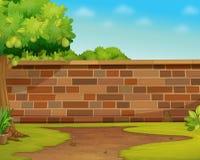 vägg stock illustrationer