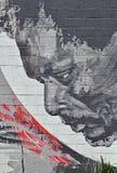Vägg Art Along Livernois i Detroit Royaltyfri Bild