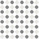 Vägg av abstrakta blommor vektor illustrationer
