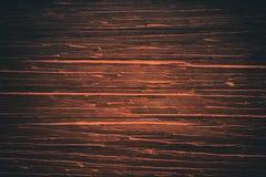 Vägg av den gamla trätabellen för plankabrädetextur royaltyfria foton