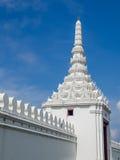 Vägg av Emerald Temple, Bangkok, Thailand Arkivfoton