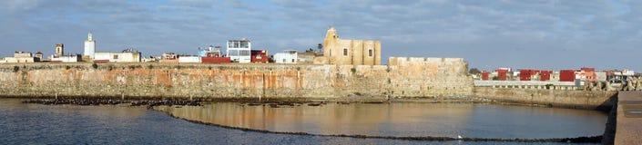Vägg av fästningen Arkivbilder