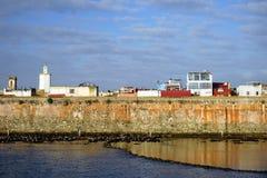 Vägg av fästningen Royaltyfria Foton
