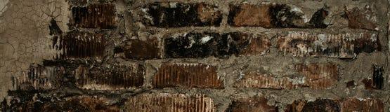 Vägg av gamla röda tegelstenar Royaltyfri Foto