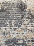 Vägg av gammala tegelstenar Royaltyfria Foton