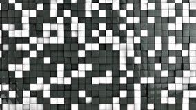 Vägg av kuber Arkivfoto