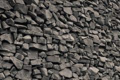 Vägg av stenar Arkivfoton