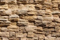 Vägg av stenar, bakgrund i form av en vägg royaltyfri fotografi