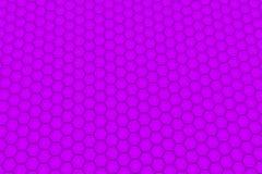 Vägg av violetta sexhörningar Arkivbilder