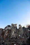 vägg för 2 grav Royaltyfri Foto