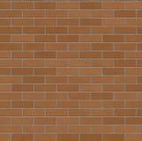 vägg för 2 tegelsten Fotografering för Bildbyråer