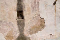 Vägg för bakgrund för abstrakt begrepp för stenbetongmodell Arkivfoton