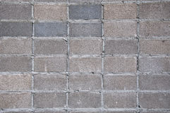 vägg för bakgrundsblockgray Royaltyfria Bilder