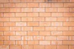 vägg för bakgrundstegelstenhorisontalröd skjuten textur Fotografering för Bildbyråer