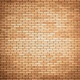 vägg för bakgrundstegelstenorange Fotografering för Bildbyråer