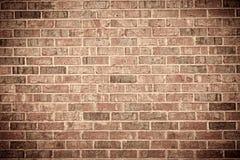 vägg för bakgrundstegelstenred Fotografering för Bildbyråer