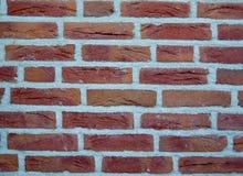 vägg för bakgrundstegelstenred Royaltyfria Bilder