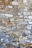 vägg för bakgrundstegelstensten Royaltyfri Fotografi