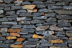 vägg för bakgrundstegelstensten Royaltyfria Foton