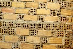 vägg för bakgrundstegelstentextur Royaltyfria Bilder