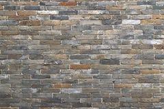vägg för bakgrundstegelstentextur Royaltyfri Bild
