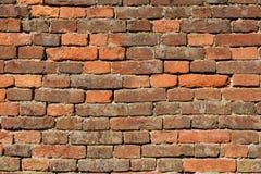 vägg för bakgrundstegelstentextur Arkivfoton