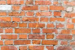 vägg för bakgrundstegelstentextur Royaltyfria Foton
