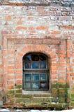 vägg för bakgrundstegelstentextur Arkivbild