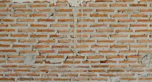 vägg för bakgrundstegelstentextur Gammal bakgrund för tappningtegelstenvägg arkivbilder