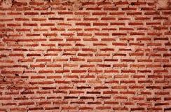 vägg för bakgrundstegelstentextur Gammal tappningtegelstenvägg royaltyfri foto