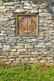 vägg för bhutan prydnadrock Royaltyfria Bilder