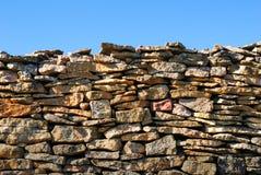 vägg för blå sky Royaltyfri Foto