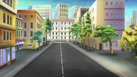 vägg för gator för tegelstenstadsflicka Bild 03 Arkivbilder
