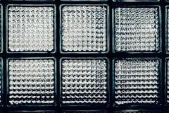 Vägg för Glass kvarter för Closeup Royaltyfri Bild