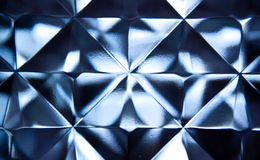 Vägg för Glass tegelsten Arkivbild
